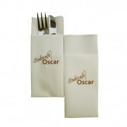 Cutlery pouch Air laid, 33 x 40 cm, white