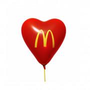 Heart balloon, 33 cm Ø