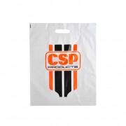 Plastic tassen bedrukken 38 x 45 x 7.5 cm
