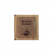 Brown sugar, sachet, 5 g