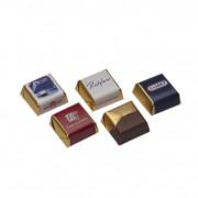 Luxury chocolates with liquor filling