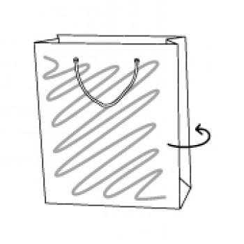 Draagtas papier, 26 x 10 x 32 cm
