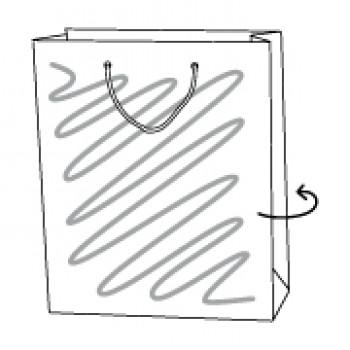 Papiertragetasche, 35 x 9 x 43 cm