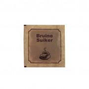 Brown sugar, sachet, 4 g
