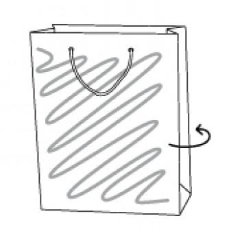 Papiertragetasche, 30 x 10 x 40 cm