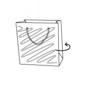 Papiertragetasche, 18 x 10 x 22 cm