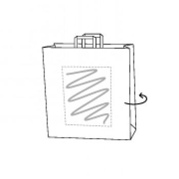 FSC Papiertasche, Kraftpapier braun, 32 x 13 x 42 cm
