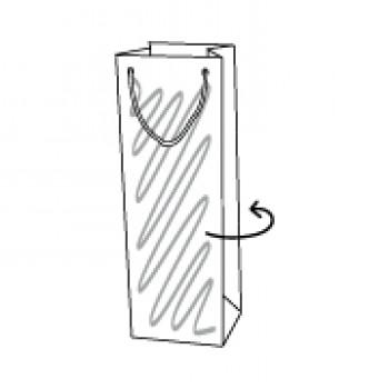 Draagtas papier, 11 x 8,6 x 39 cm