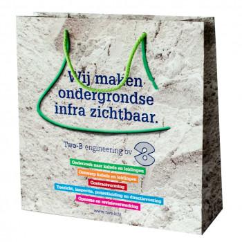 Papiertragetasche, 33 x 11 x 33 cm