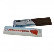 Mini elongated chocolates